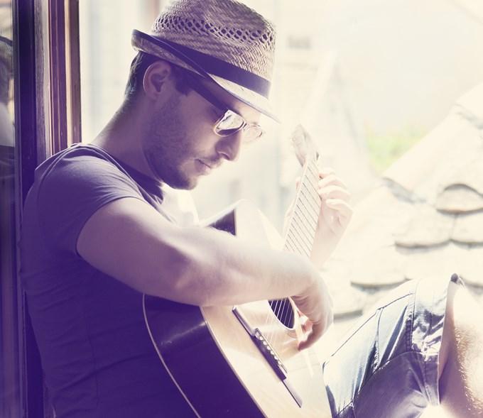 La guitare est comme une extension de moi-même